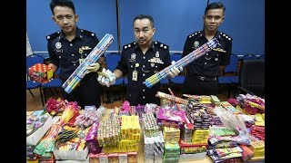 16 nabbed for selling illegal firecrackers in Terengganu