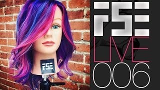 FSE LIVE #006 - Fantasy Hair Color Technique plus your questions answered