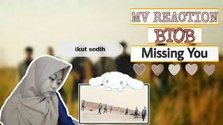 BTOB(비투비) _ Missing You(그리워하다) MV REACTION INDONESIA (SEDIH …