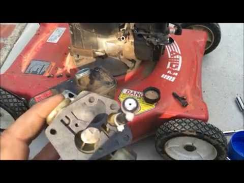 Mower Surging/ Rev RPM  Up & Down - Fixed For Good