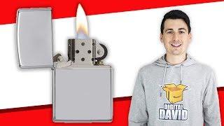 Zippo Lighter Unboxing // Zippo Chrome Lighter Review
