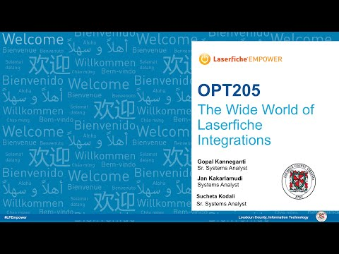 Loudon County Government: The Wide World of Laserfiche Integrations