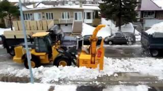 видео Уборка снега