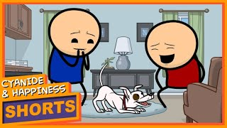 Dog Tricks - Cyanide & Happiness Shorts