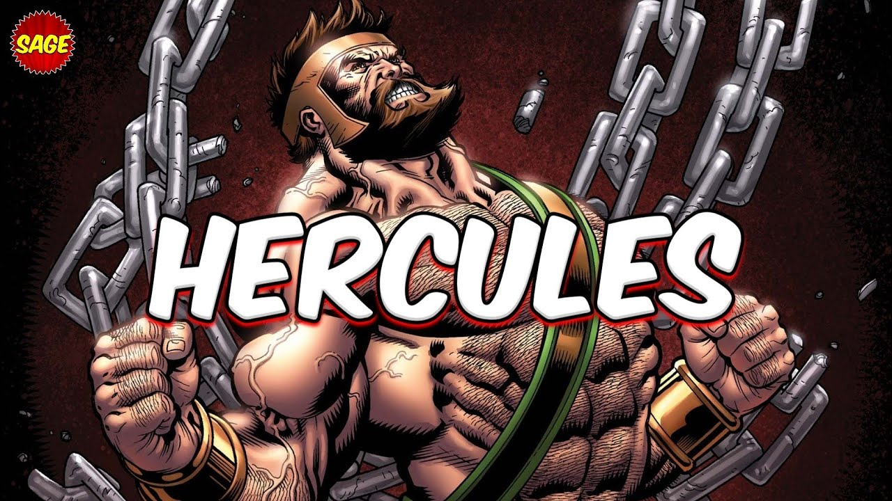 Who is Marvel's Hercules? Potentially Unlimited Strength.