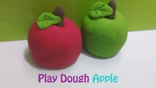 Play dough Apple _ membuat play dough buah apel _ アップルDOH再生