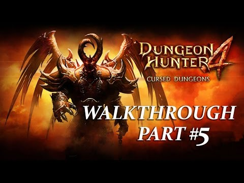 Dungeon Hunter 4 Gameplay Walkthrough Part 5 (Android)