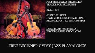 Beginner Gypsy Jazz Playalong - I Can