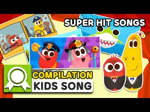 LARVAKIDS SUPER HIT SONGS TOP5 | 12MIN | LARVA KIDS | SUPER BEST SONGS FOR KIDS