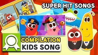 LARVAKIDS SUPER HIT SONGS TOP5 | 12MIN | LARVA KIDS | SUPER BEST SONGS FOR KIDS