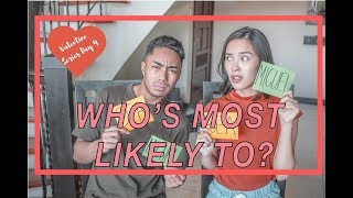 WHO'S MOST LIKELY TO CHALLENGE!!   VALENTINE'S SERIES DAY 4