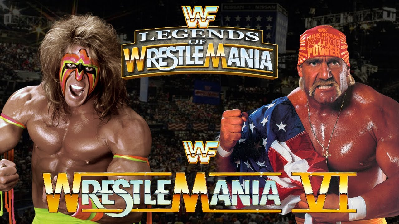 Legends of Wrestling - Ultimate Warrior vs. Hulk Hogan ...
