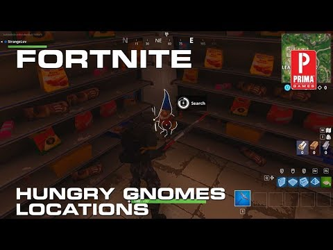 Fortnite Hungry Gnomes - All Hungry Gnome Locations