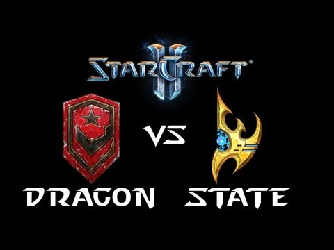 StarCraft 2 - Dragon [T] vs State [P] (Commentary)