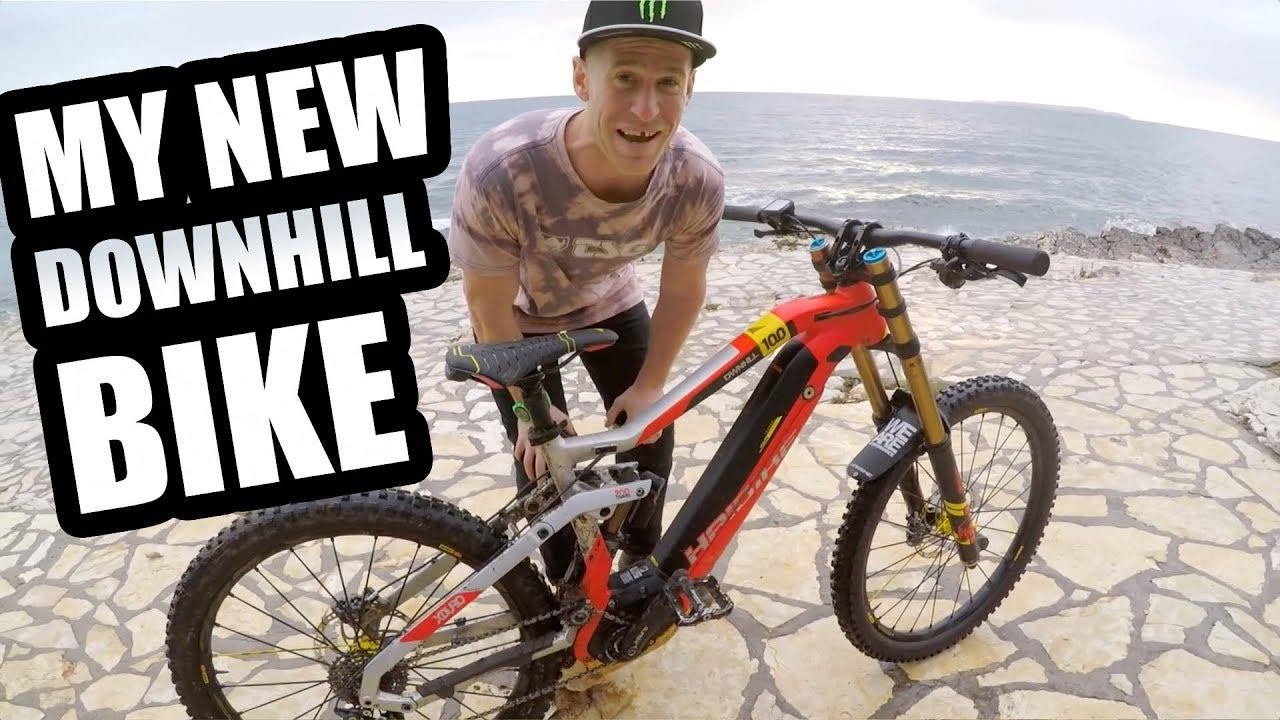 downhill bike insane
