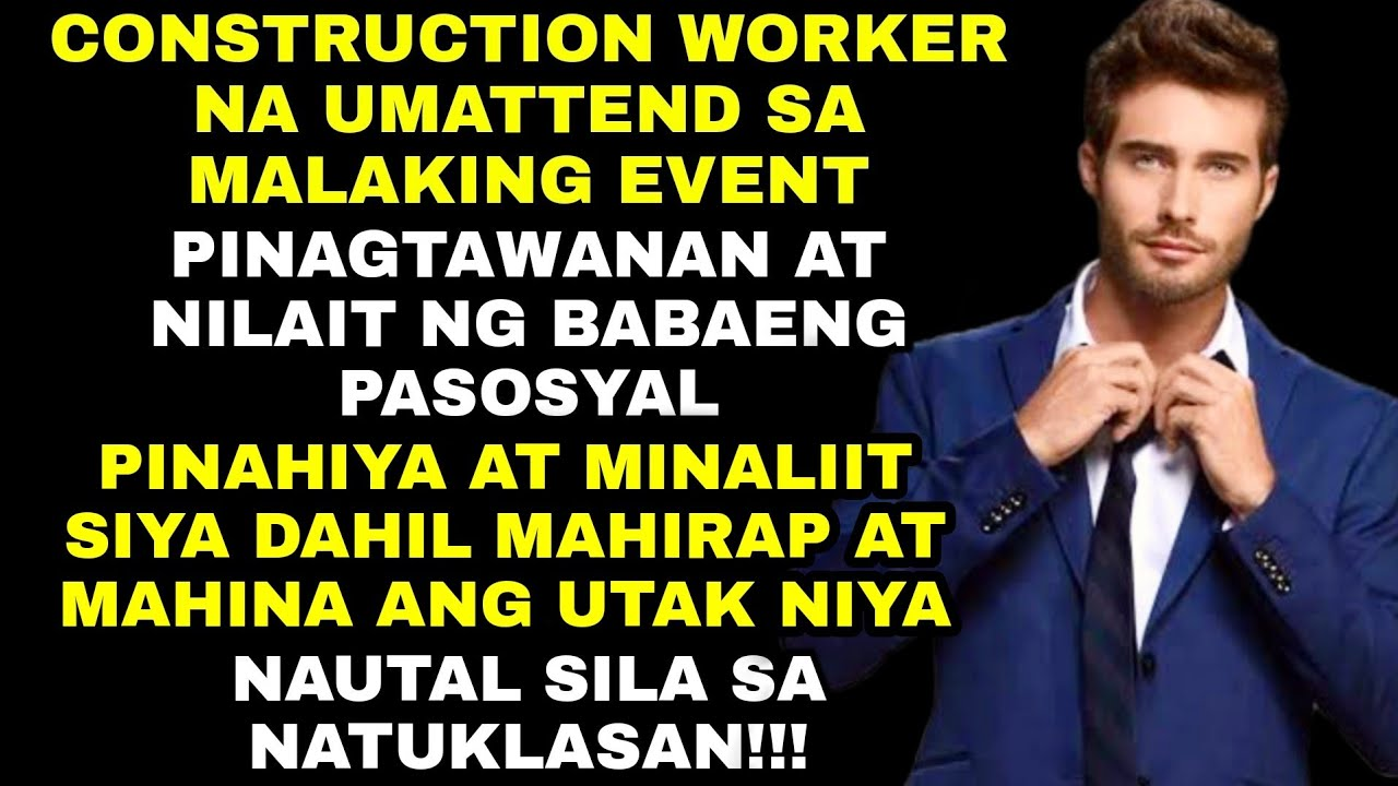 LALAKENG CONSTRUCTION WORKER, PINAGTAWANAN, NILAIT, PINAHIYA NG MAYAYABANG NA KAKLASE! | Superman PH