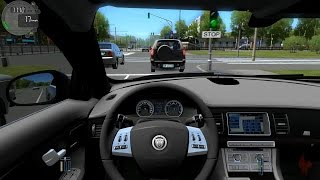 City Car Driving - Jaguar XFR 5.0 + (Download link!)