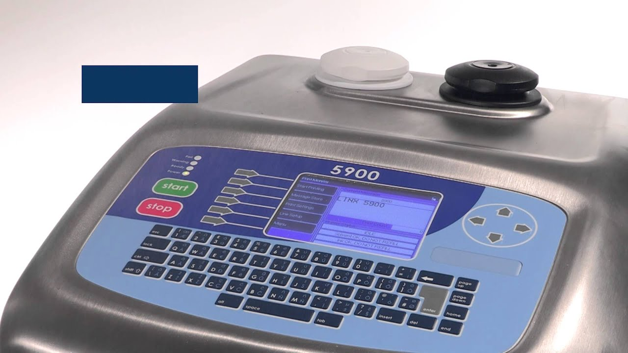 linx 5900 cij printer provides consistently reliable coding and rh youtube com