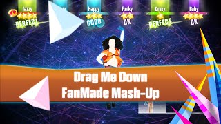 just dance 2016 drag me down   one direction   khs cover   fanmade mash up   special christmas