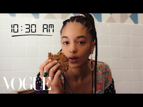 How Top Model Indira Scott Gets Runway Ready | Diary Of A Model | Vogue