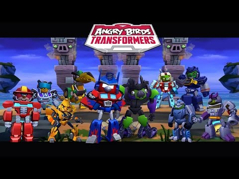 Angry Birds Transformers - All Transformers Unlocked Gameplay Walkthrough #26