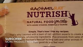 ✅  How To Use Rachael Ray Nutrish Ocean Lovers Cat Food Review