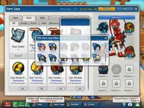 gm bagi bagi char lost saga mayor 1103