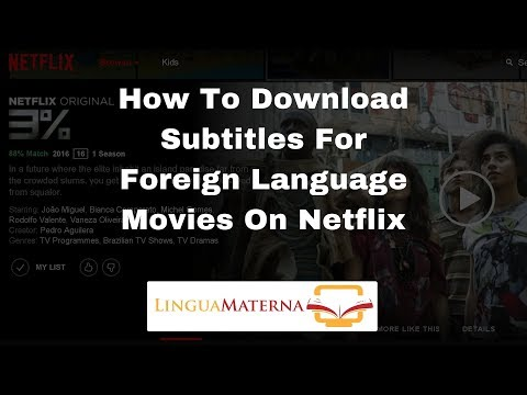 How To Download Subtitles For Foreign Language Movies On Netflix