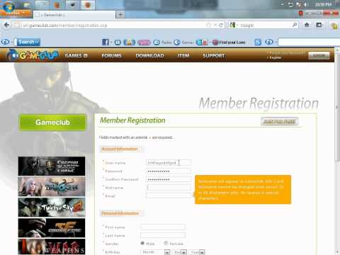 crossfire online game register