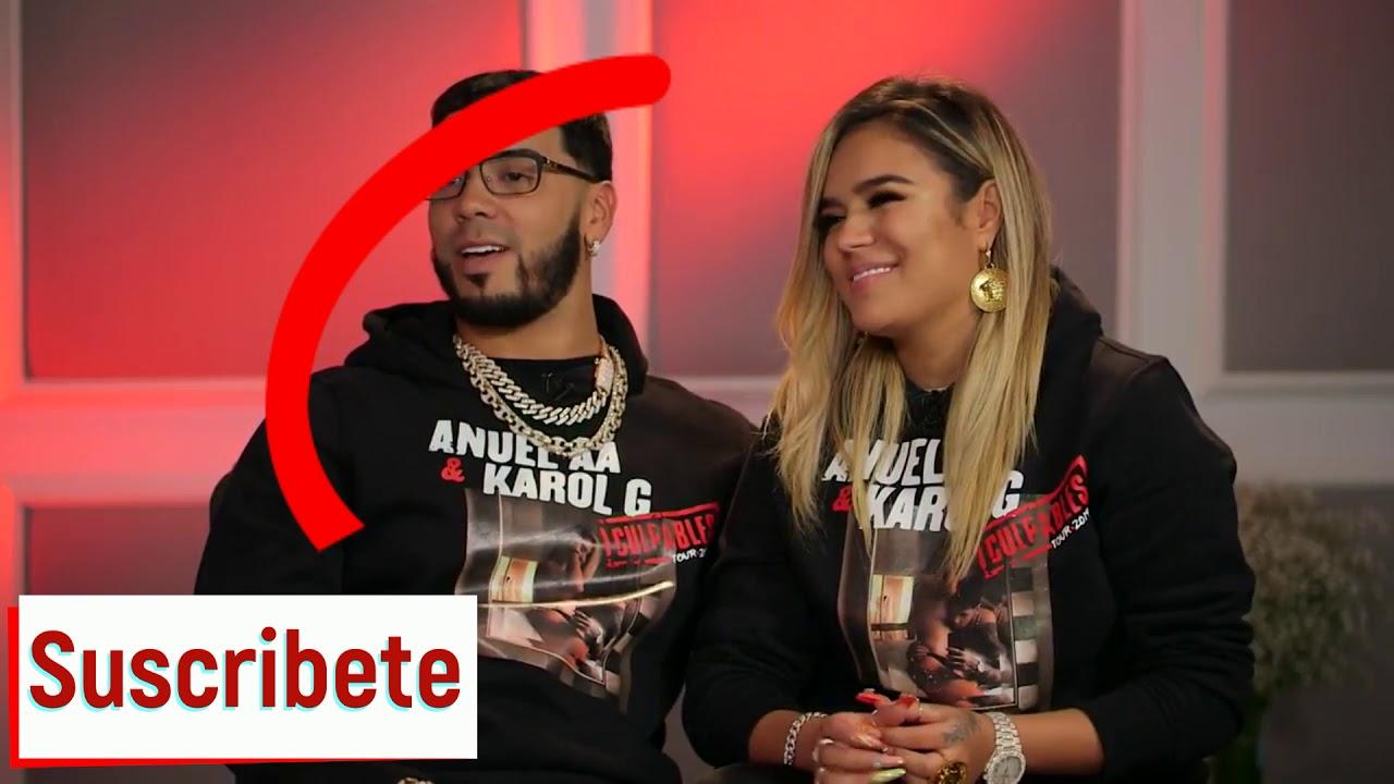 Anuel Aa Y Karol G Hablan Sobre Sus Tatuajes Y Wow Mira Lo Qu Le