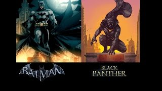 Grudge Match 50: Batman vs Black Panther