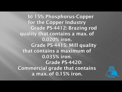 Copper Phosphorus Alloy from Reade
