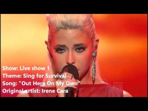 Cece Frey ~ All X Factor USA Performances