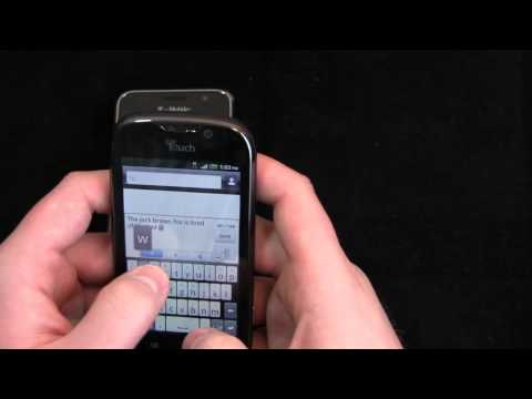 Samsung Galaxy S 4G vs. T-Mobile myTouch 4G Dogfight Part 1