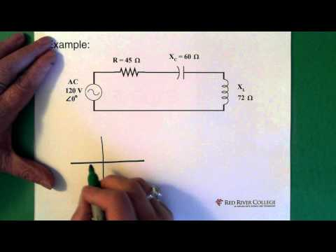 Complex Numbers: AC Circuit Application