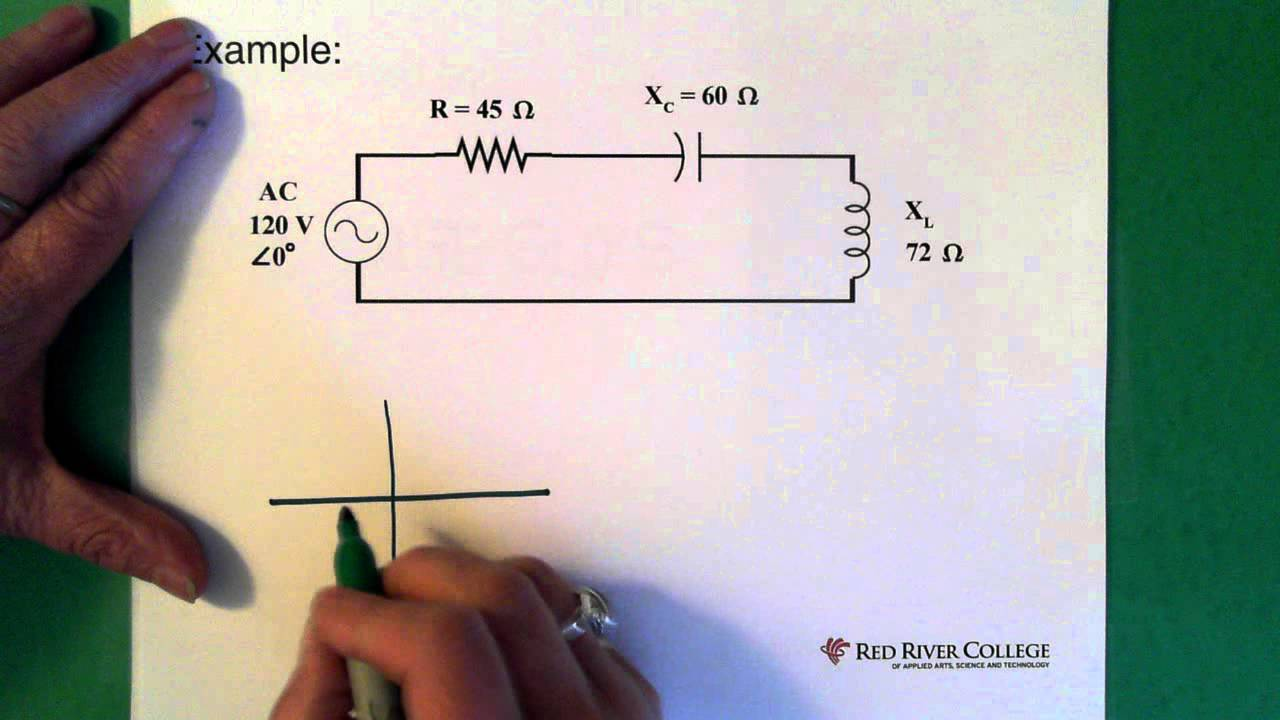 Complex Numbers Ac Circuit Application Youtube Video Animation Simple Electrical Showing Current Flow By