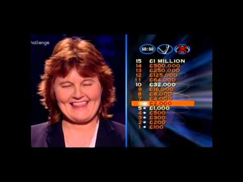 Series 8 Who Wants to be a Millionaire 26th October 2000