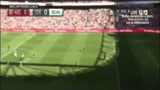 Арсенал 2:0 Сток Сити Обзор голов 12.09.2015