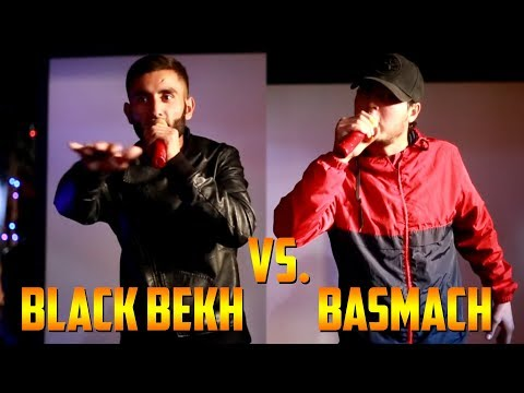 Basmach vs. Black Bekh, Видео Battle (RAP.TJ)