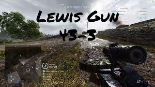 Battlefield 5 | Lewis Gun (43-3) Breakthrough on Twisted Steel