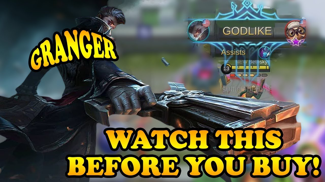 Watch This Before Buying Granger! | Mobile Legends Bang Bang thumbnail