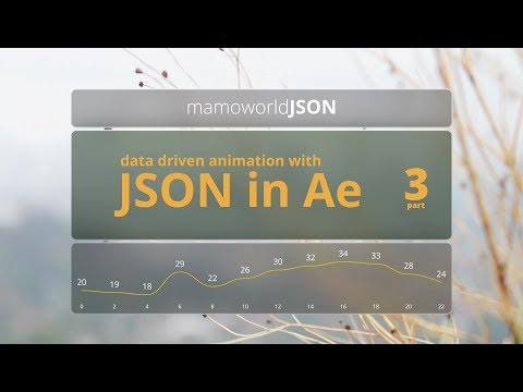 Data-Driven Animation with JSON in After Effects - Part 3: Show/Hide Layers