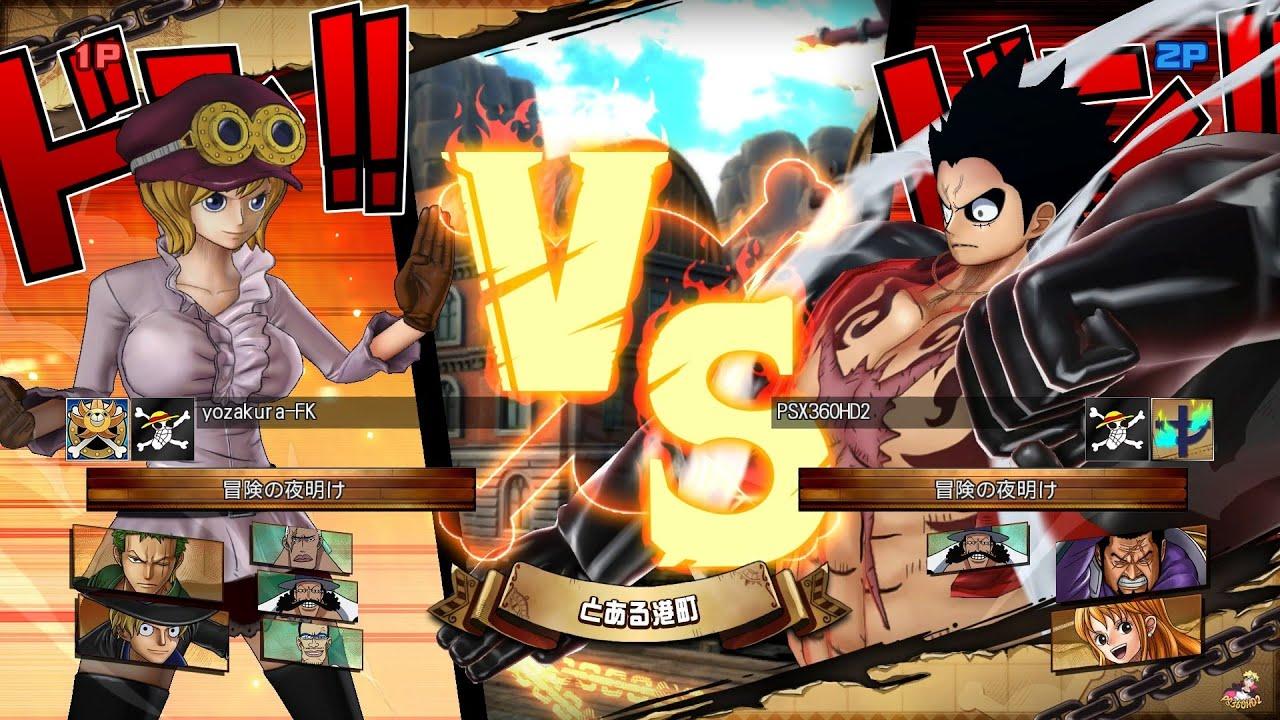 One Piece Burning Blood - Online Ranked Battles Episode #2 (1080p) ワンピース  バーニングブラッド - YouTube