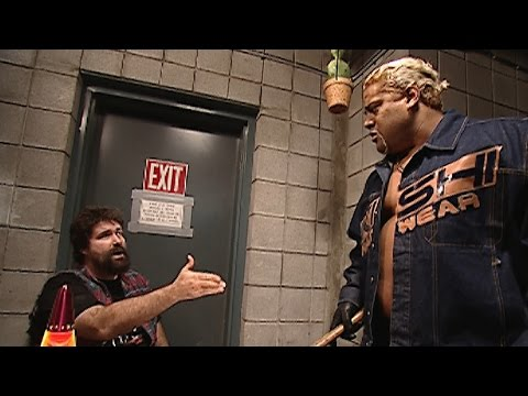 Rikishi confronts Mick Foley about a missing Steve Austin: No Mercy 2000 on WWE Network