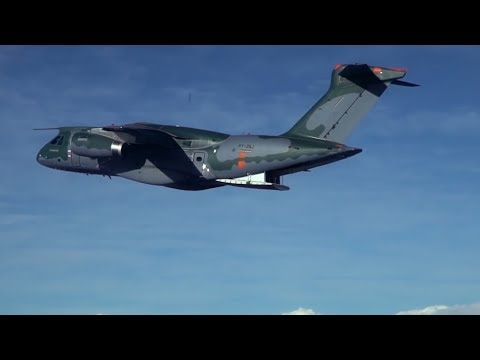 Take a look inside the KC-390, the latest multimission aircraft