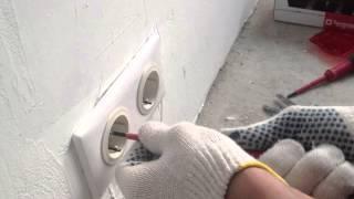 Електрика АВВ. Правильная установка накладной панели на розетку