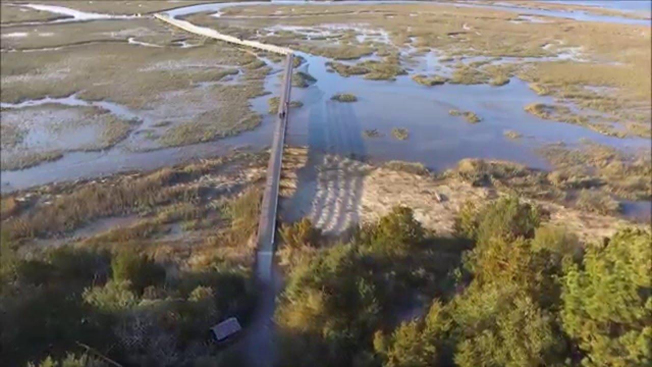 Aerial Huntington Beach State Park South Carolina Fpv Youtube