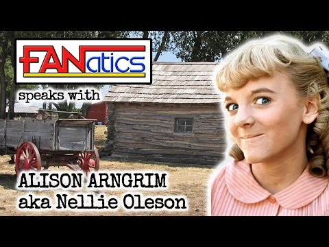 with Alison Arngrim, aka Nellie Oleson of Little House on the Prarrie!