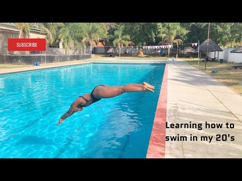 Learning How To Swim As An Adult││swimming Lessons