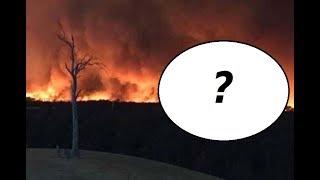 Diabeł uchwycony w płomieniach w Australii? Przegląd Zjawisk